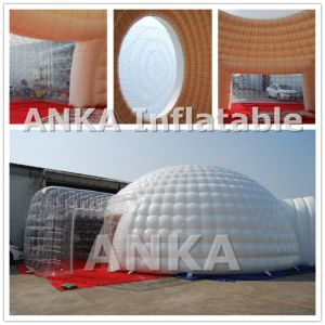 Inflatable Dome Tent with Transparent Window Roof pictures & photos