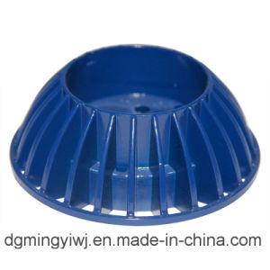 Die-Casting Aluminum LED Parts with Blue Appearance and Good Sales Made in Chinese Factory