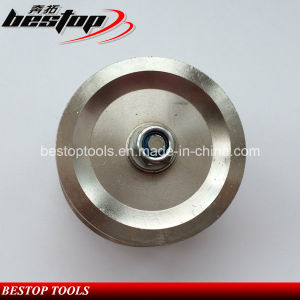 M14 Threaded Vacuum Brazed Diamond Profile Wheel for Granite/Marble pictures & photos