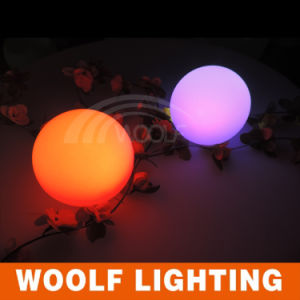 LED Colored Changing Decorative Plastic Round Balls