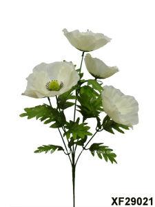 China artificialplasticsilk flower single stem of poppy with 5 artificialplasticsilk flower single stem of poppy with 5 branches xf29021 mightylinksfo