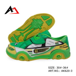 Walking Shoes Cheap Lovely Carton Shape for Children (AK620-2) pictures & photos