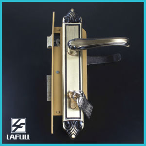 High Quality Brass Cylinder Security Door Handle Lock