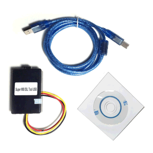 Super MB ESL Emulator USB ESL Programmer for Mercedes Benz W202, W208,  W210, W203, W209, W219, W211