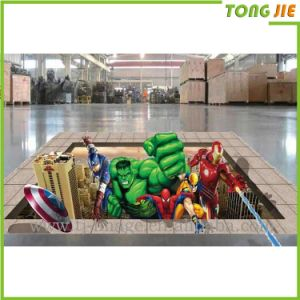 3D Floor Graphic Stickers and Labels Printing pictures & photos