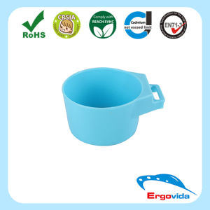 Blue Plastic Portable Cup Holder for Water Dispenser