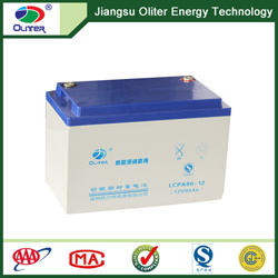 12V 90ah AGM Rechargeable Deep Cycle Solar Battery