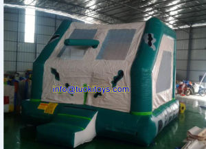 Popular Style Inflatable Closed Inflatable Trampolines (CIT) Made of 18 Oz PVC Tarpaulin (A002)