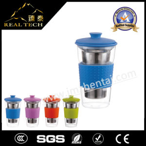 OEM ODM Custom Heat Resistant Borosilicate Single Wall Glass Cup