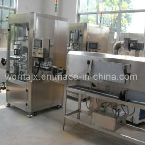 Shrink Wrap Bottle Labeling Machine pictures & photos