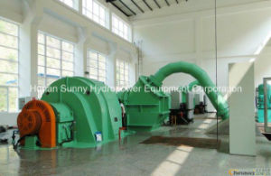 Hydro (Water) Small Pelton Turbine-Generator Sf1600 High Voltage 10.5kv / Hydropower Alternator/ Hydroturbine pictures & photos