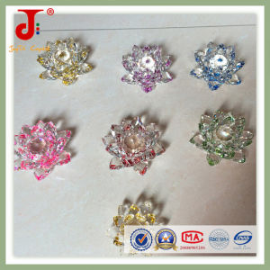 Lustrous Clear Crystal Lotus for Wedding Anniversary (JD-CF-310) pictures & photos