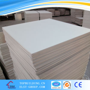 PVC Laminated Gypsum Ceiling Tile 600*600*9.5mm pictures & photos