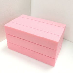Fuda Extruded Polystyrene (XPS) Foam Board B2 Grade 700kpa Pink 30mm Thick Slotted