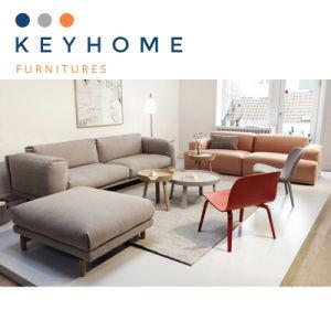 China Keyhome Home Furniture Sectional Fabric Sofa (T-014) - China ...