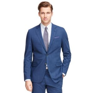 Made to Measure Trendy Suit Men′s Blue Jacket and Pants (SUIT71419) pictures & photos