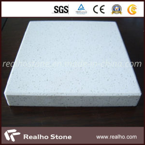 White Stone Type Polished Artificial Quartz Stone for Sale