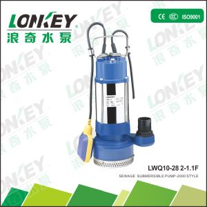 Multi-Stage Sewage Submersible Pump, High Efficiency pictures & photos