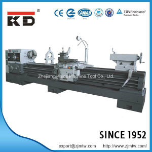 Large Sized Conventional Heavy Duty Big Bore Lathe Cw6163A/3000 pictures & photos