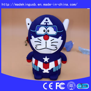 Customized PVC USB Flash Drive for Promotion pictures & photos