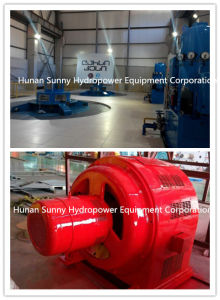 Low Voltage Generator Unit 0.4 Kv / Hydro (Water) Turbine Generator / Hydroturbine