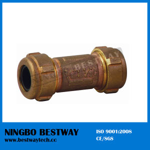 High Quality Bronze Compression Fitting Hot Sale (BW-Q12) pictures & photos