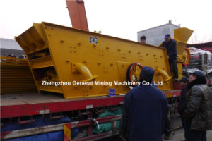 2017 Hot High Efficient Recycling Sand Gravel Trommel Screen