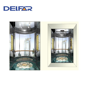 Round Glass Machine Roomless Panoramic Elevator pictures & photos