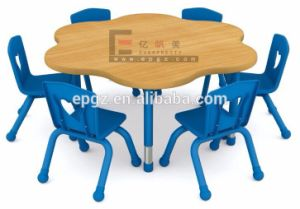 Colorful Children Furniture Children Wooden Desk Chair and Kid Chair pictures & photos