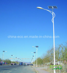 120W Outdoor Solar Street Lighting with Energy Saving