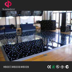 Wireless Black Acrylic LED Dance Floor for Wedding Party