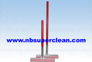 Car Wash Squeegee Wiper with Wood Handle Squeegee (CN1710AB) pictures & photos