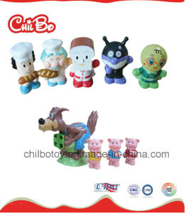 Lovely Cartoon Plastic Toy for Promotion (CB-PM010-Y) pictures & photos