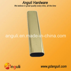 Wt-0011 15*30 Metal Oval Wardrobe Tube pictures & photos
