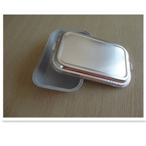 Eco-Friendly with Lid for Lunch Foil Airline Container pictures & photos