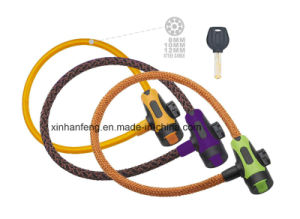 Newest Bicyle Lock for Mountain Bike with Cloth Cover (HLK-033) pictures & photos