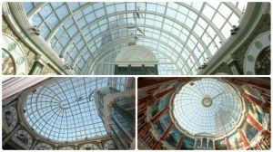 Dome Skylight with Aluminum Frame Round Glass Roofing (Andy CW1601)