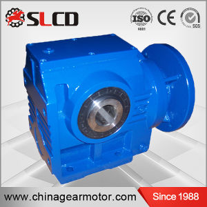 S Series Gearbox 90 Degree Shaft Gearmotor Helical Worm Gearbox Drive pictures & photos