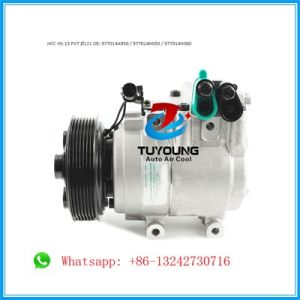 Hcc HS15 Auto Air Conditioning Compressor for Hyundai KIA Pn# 977014A950  977014h050 977014h060