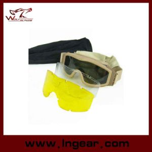 Tactical Military Protective Ess Airsoft Goggles Wargame Paintball Hunting Shooting pictures & photos