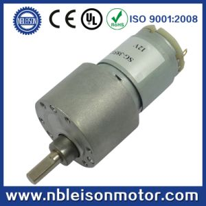 37mm 12V 24V Low Rpm High Torque DC Gear Motor pictures & photos