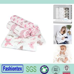Baby Wrap Wholesale Muslin Swaddle Blanket Bamboo pictures & photos
