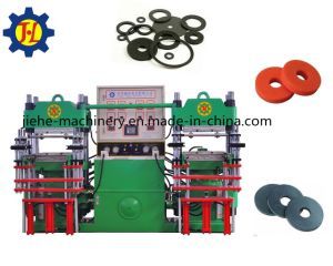 250t Rubber Silicone Washers Molding Vulcanizing Machine with Two Stations pictures & photos