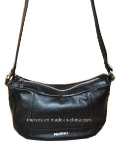 Fashion Ladies′ Leather Shoulder Bag M10463