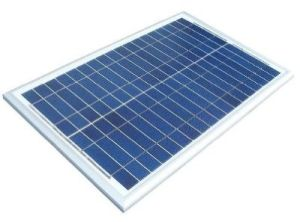 TUV ISO CE 30W Polycrystal Small Panel Soar for Travel Independent Design by Company Engineers