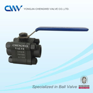 Carbon Steel A105 Floating Ball Valve with Female Thread