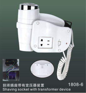 1400W New Style Wall Mounted Hair Dryer S1808-6