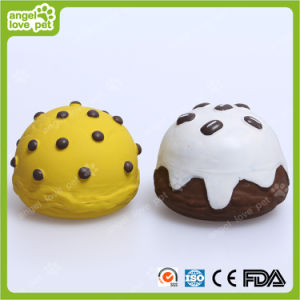 Vinyl Sweet Cake Pet Toy (HN-PT672) pictures & photos