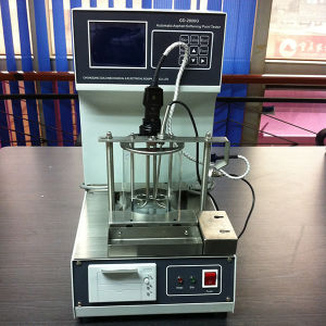 Gd-2806g Automatic Asphalt Ring and Ball Softening Point Tester pictures & photos