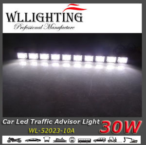 Waterproof IP67 LED Emergency Light Bar White